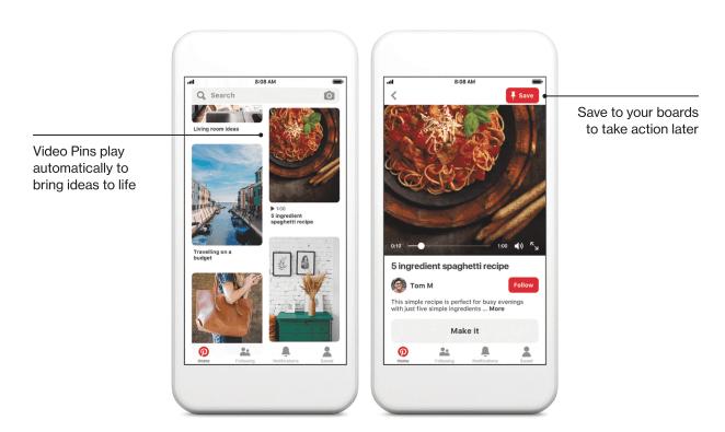 How Pinterest Video Pins Work