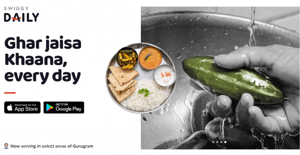 Swiggy Daily Home Cooked Food