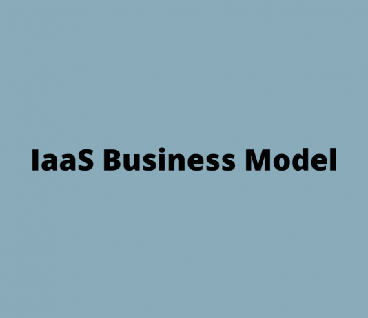 Business Model of IaaS ( Infrastructure as a service )