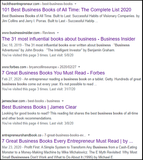 Search Result for To Business Books