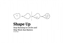 Shape Up Book by Ryan Singer of Basecamp